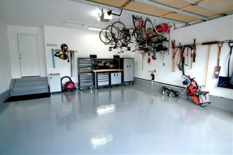 peinture epoxy garage b ton montr al rev tement de plancher peintre montr al. Black Bedroom Furniture Sets. Home Design Ideas